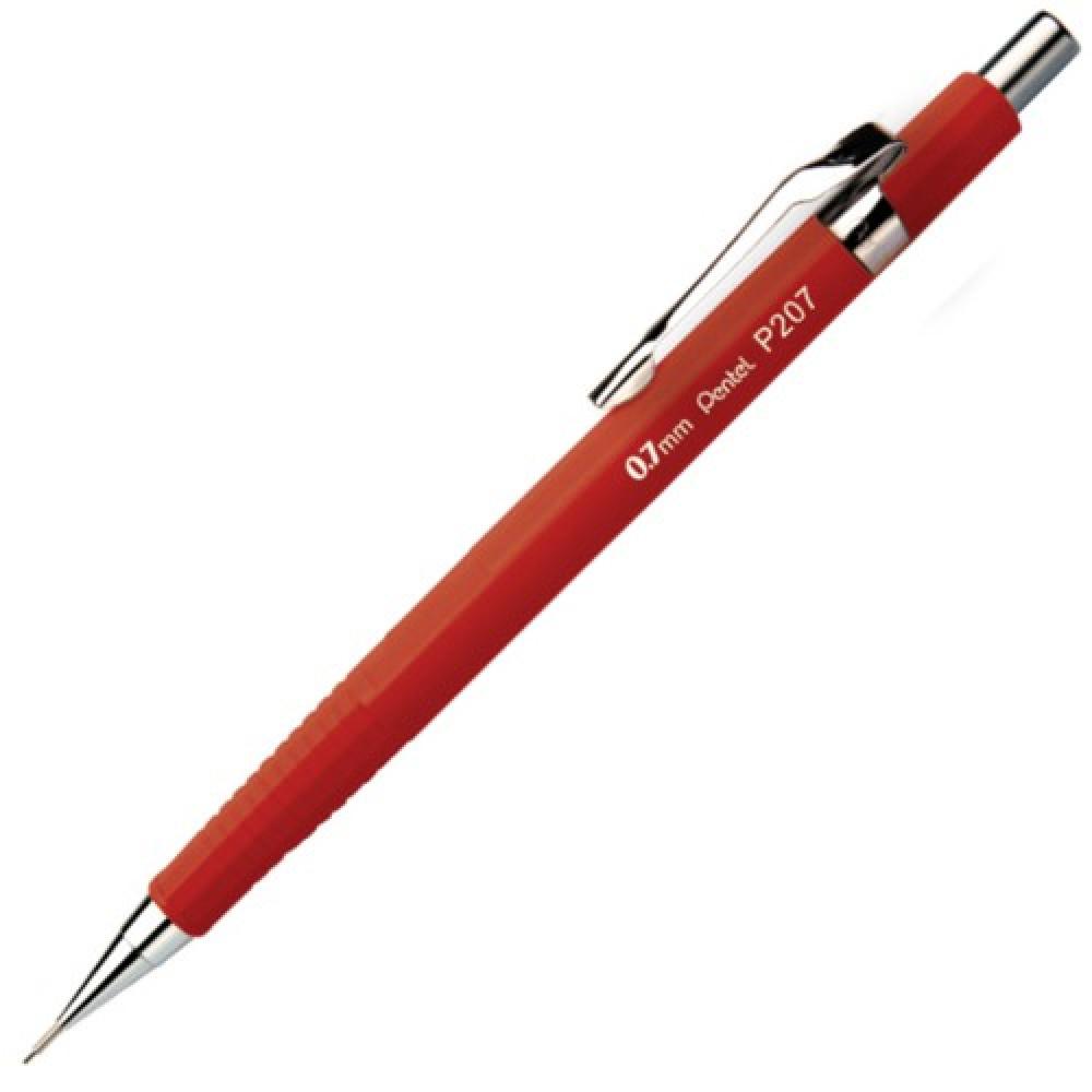 Lapiseira Pentel Sharp 0.7mm Vermelha P207-FR