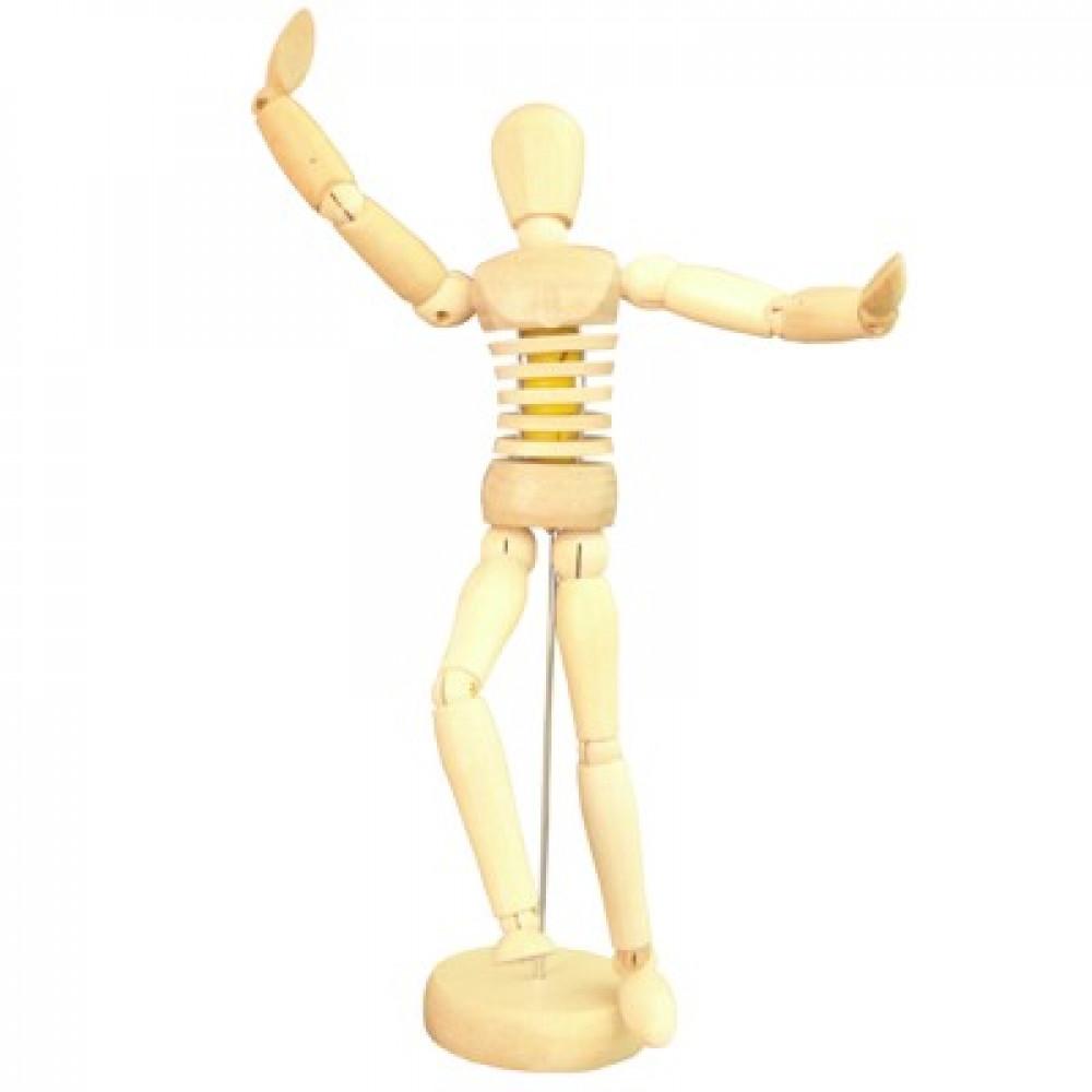 Boneco Articulado 20cm Torso Flexível Feminino