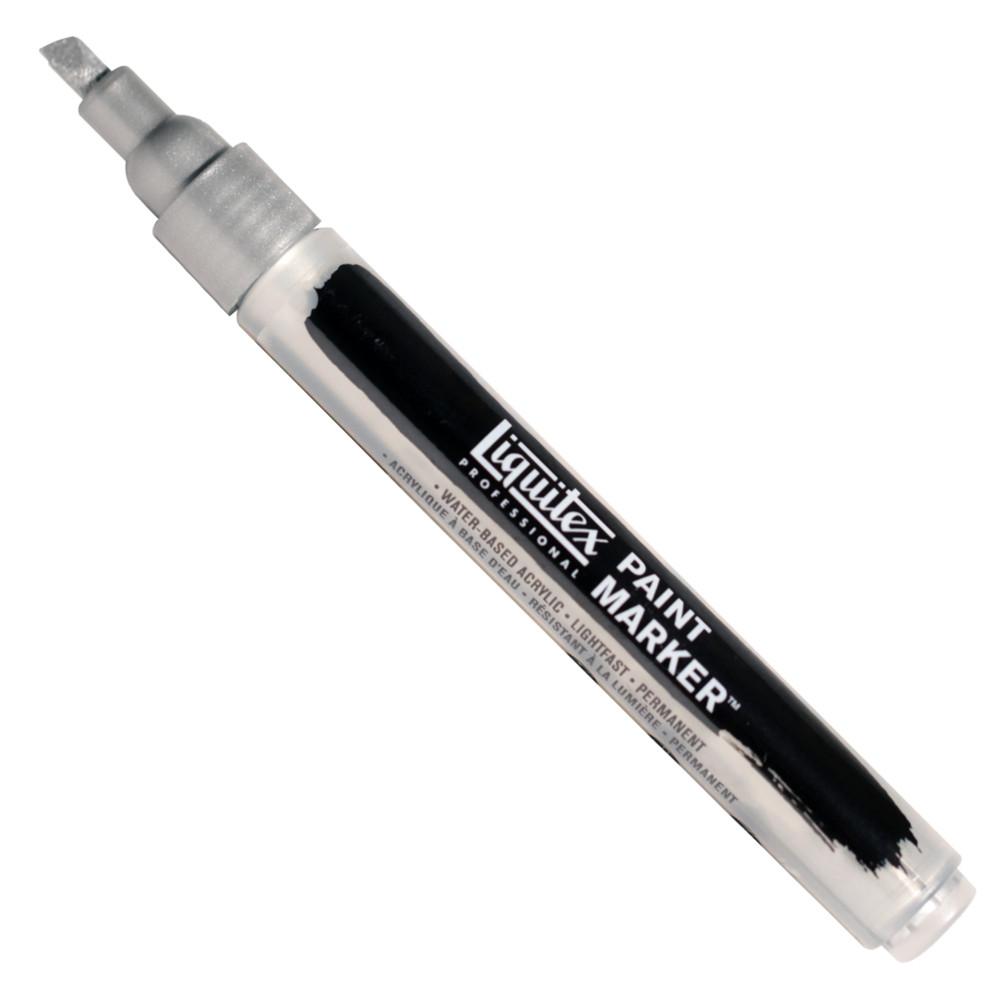 Marcador Liquitex Paint Marker Fine 4620239 Iridescent Rich Silver