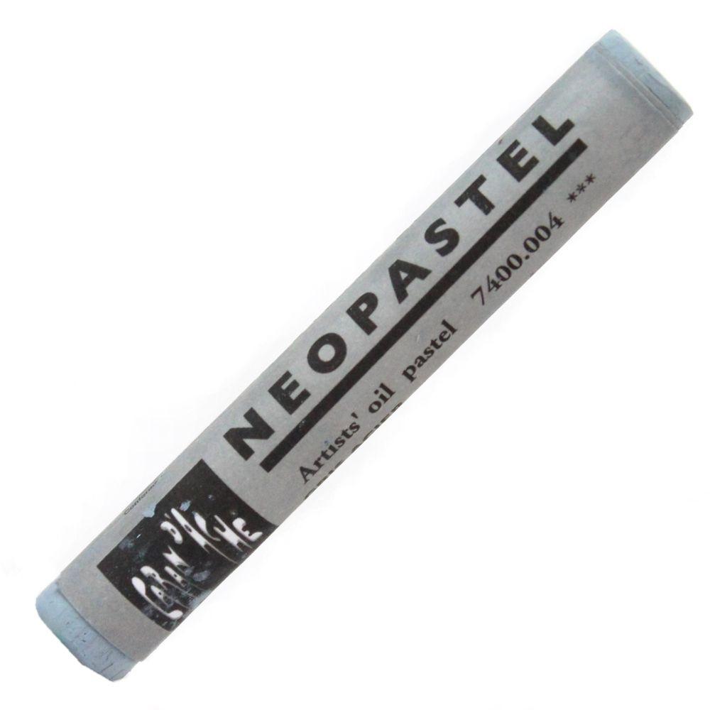 Neopastel Caran d'Ache 004 Steel Grey