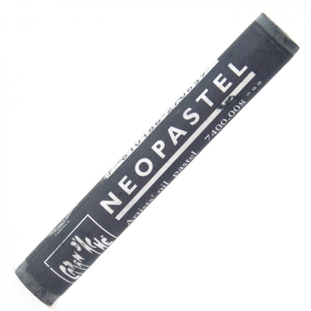 Neopastel Caran d'Ache 008 Greyish Black