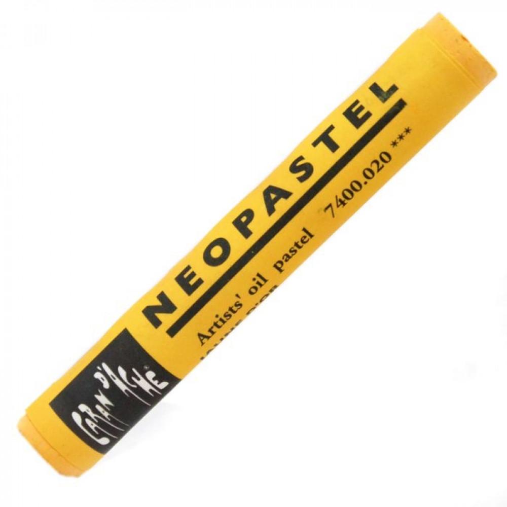 Neopastel Caran d'Ache 020 Golden Yellow