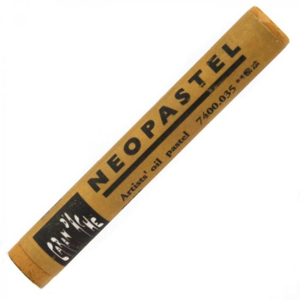 Neopastel Caran d'Ache 037 Brown Ochre