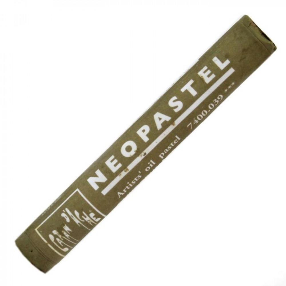 Neopastel Caran d'Ache 039 Olive Brown