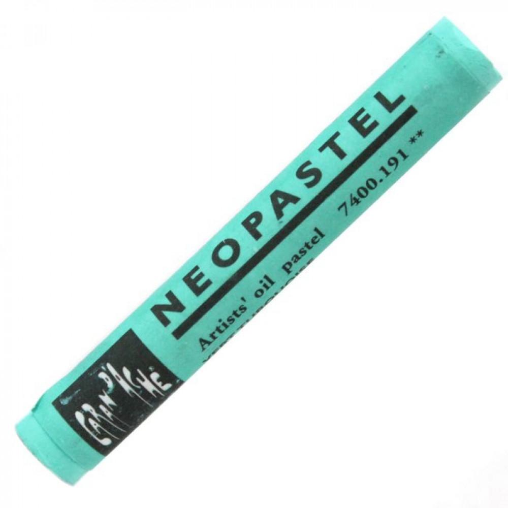 Neopastel Caran d'Ache 191 Turquoise Green