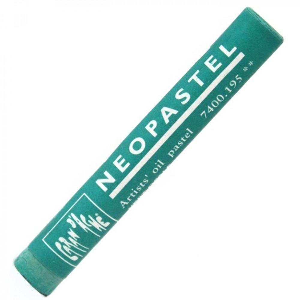 Neopastel Caran d'Ache 195 Opaline Green
