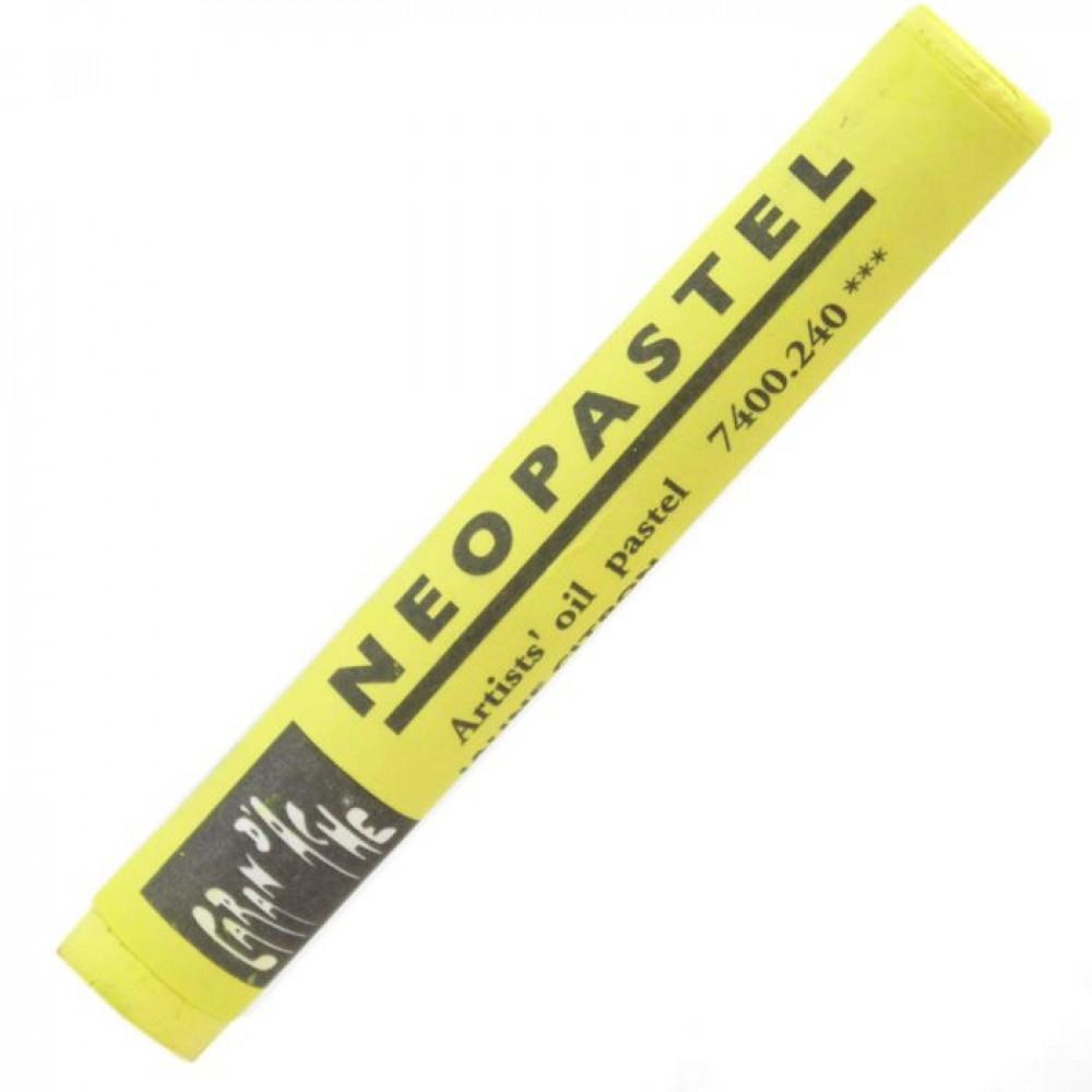 Neopastel Caran d'Ache 240 Lemon Yellow