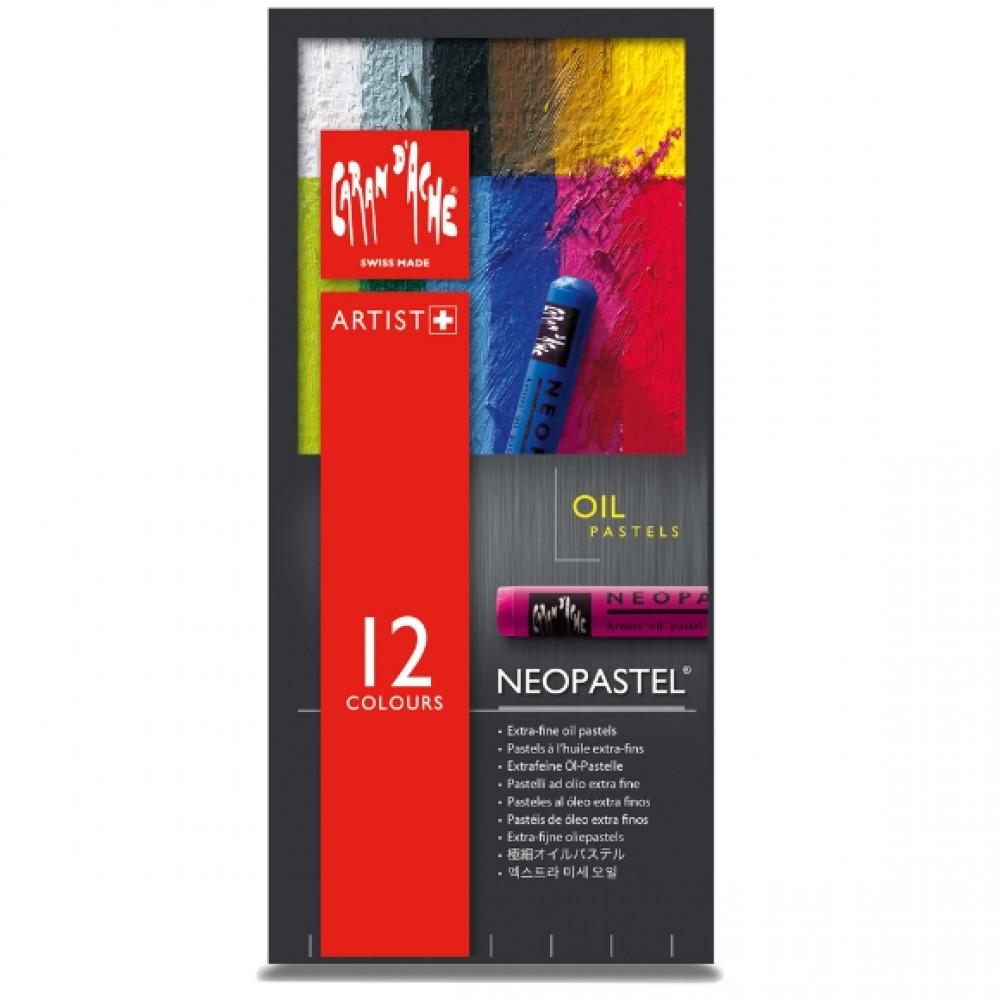 Neopastel CARAN d'ACHE 12 Cores