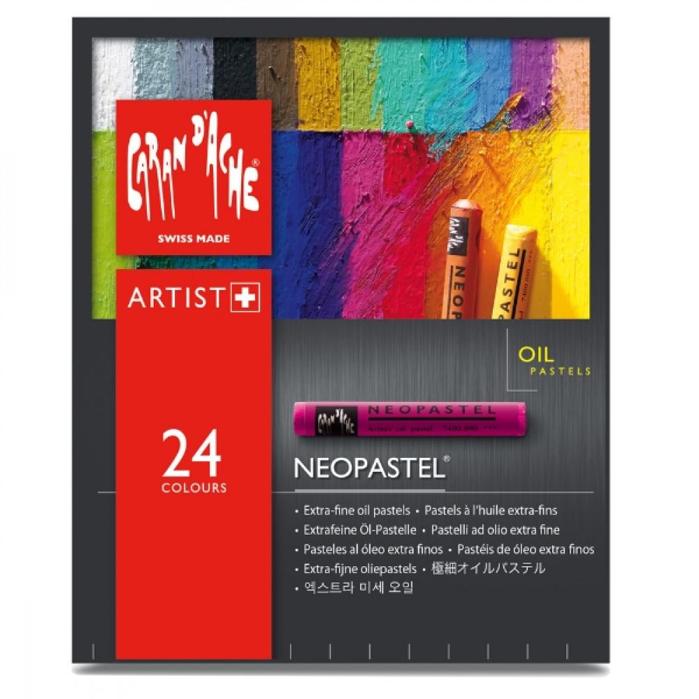 Neopastel CARAN d'ACHE 24 Cores