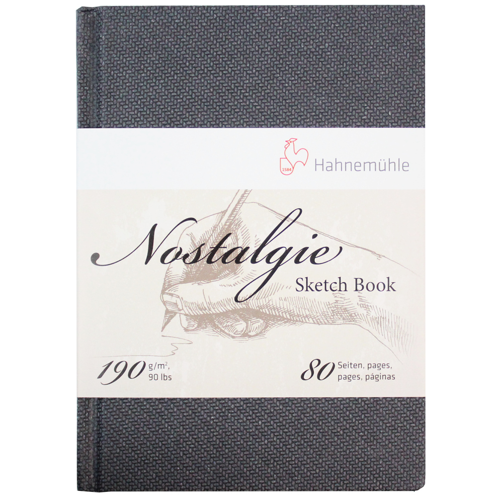 Bloco Sketchbook Hahnemühle Nostalgie A6 Retrato