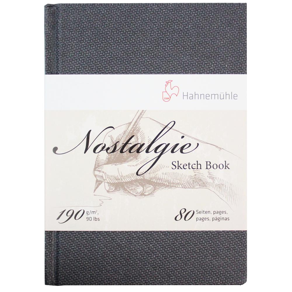 Bloco Sketchbook Hahnemühle Nostalgie A5 Retrato