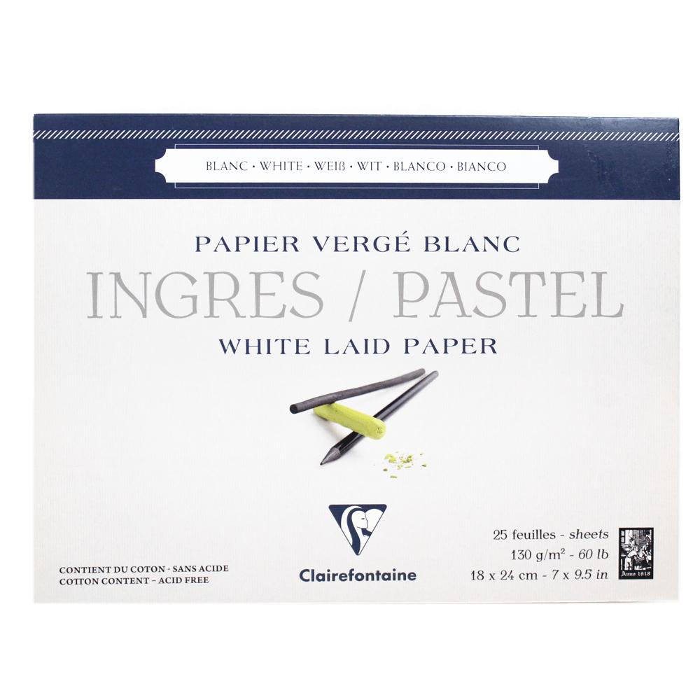 Papel Ingres Para Pastel Clairefontaine 18X24cm