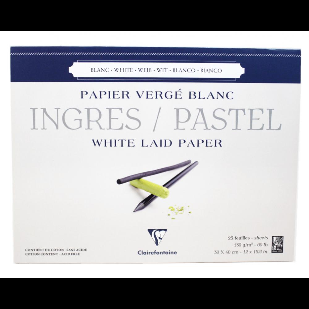 Papel Ingres Para Pastel Clairefontaine 30X40m