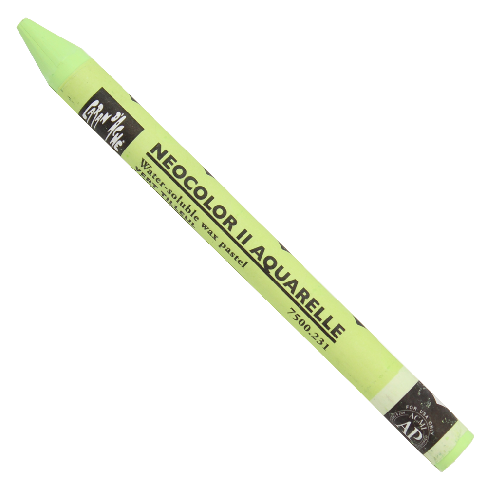 Giz Aquarelável Neocolor II Caran D'Ache 231 Lime Green