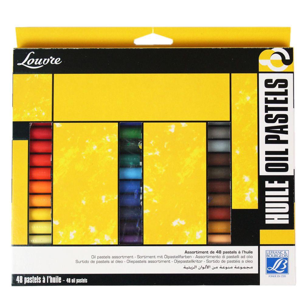 Pastel Oleoso Lefranc & Bourgeois 48 Cores