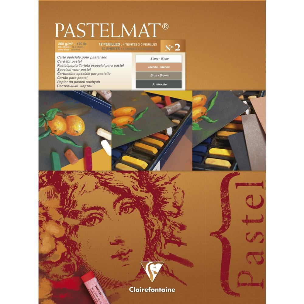 Papel Para Pastel Clairefontaine Pastelmat Nº2 30x40cm