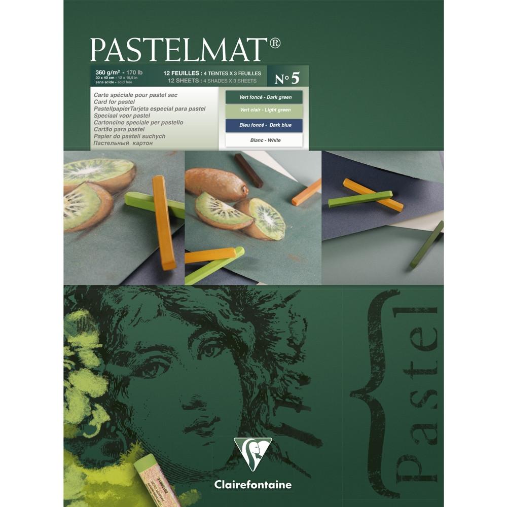 Papel Para Pastel Clairefontaine Pastelmat Nº5 30x40cm