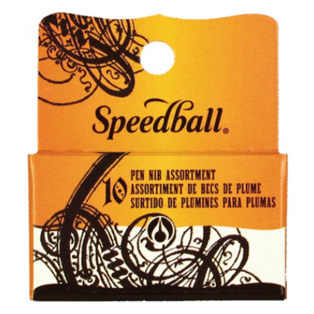 Kit C/10 Penas de Caligrafia Speedball 30710