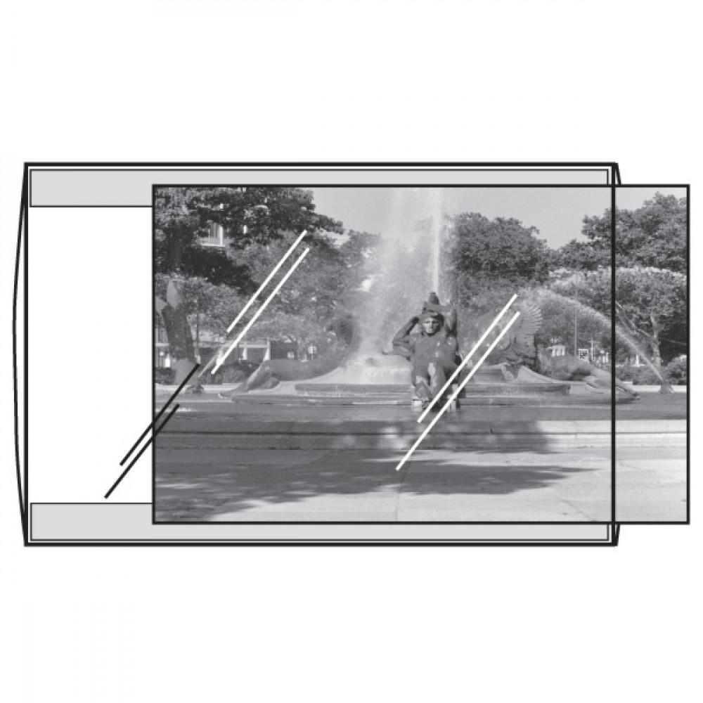 Porta Fotos Transparente Nível Museu