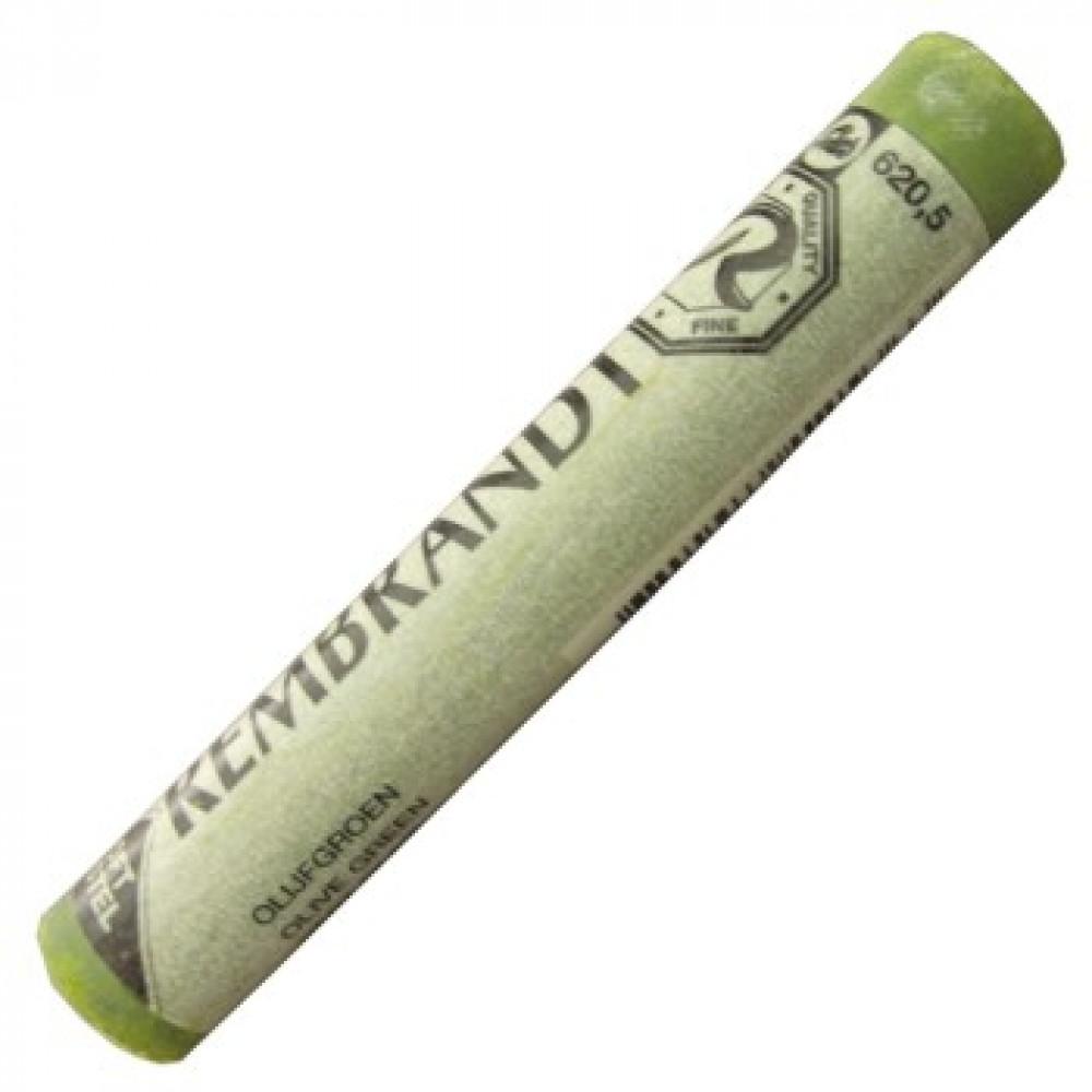 Pastel Seco Rembrandt Talens 620.5 Olive Green