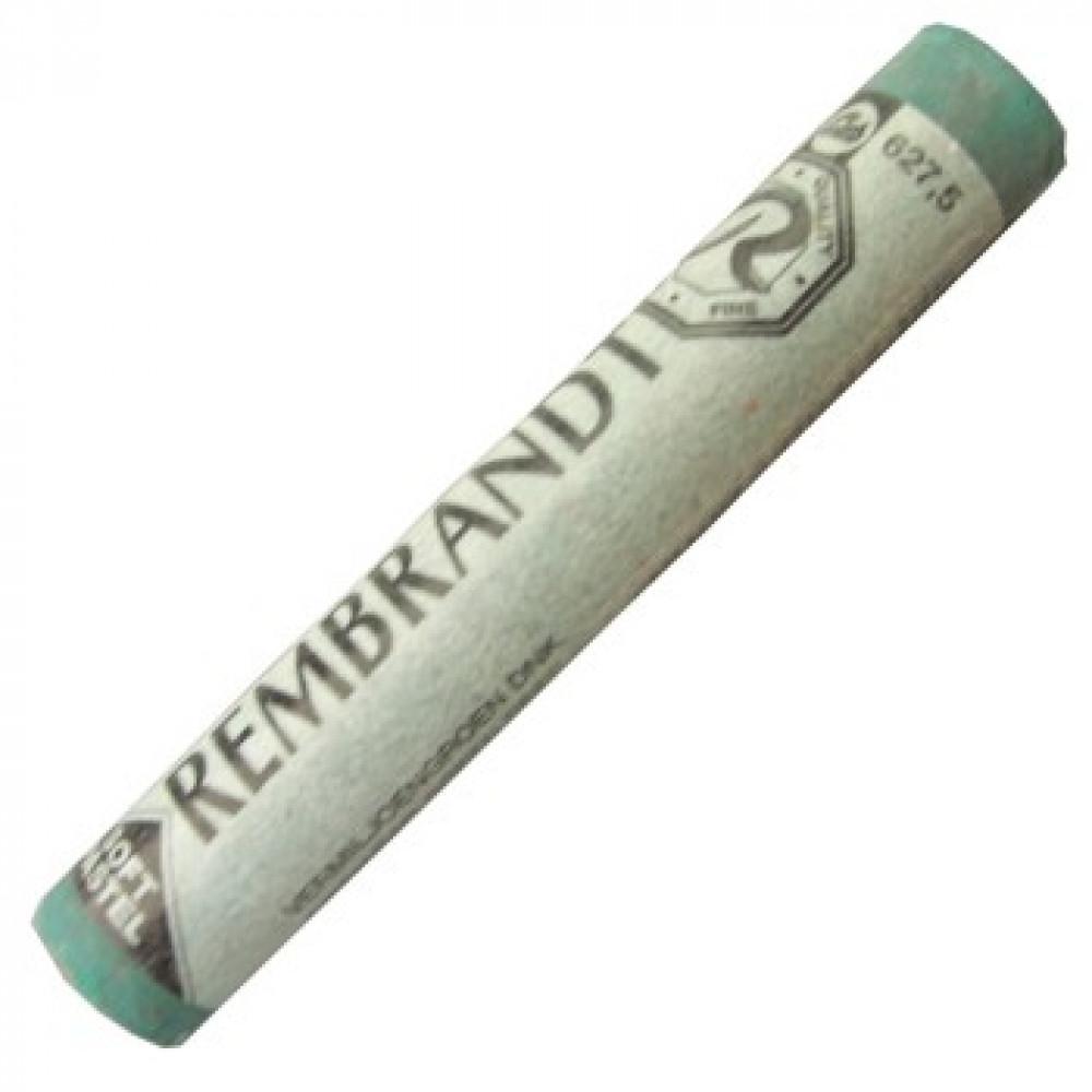 Pastel Seco Rembrandt Talens 627.5 Cinnabar Green Deep