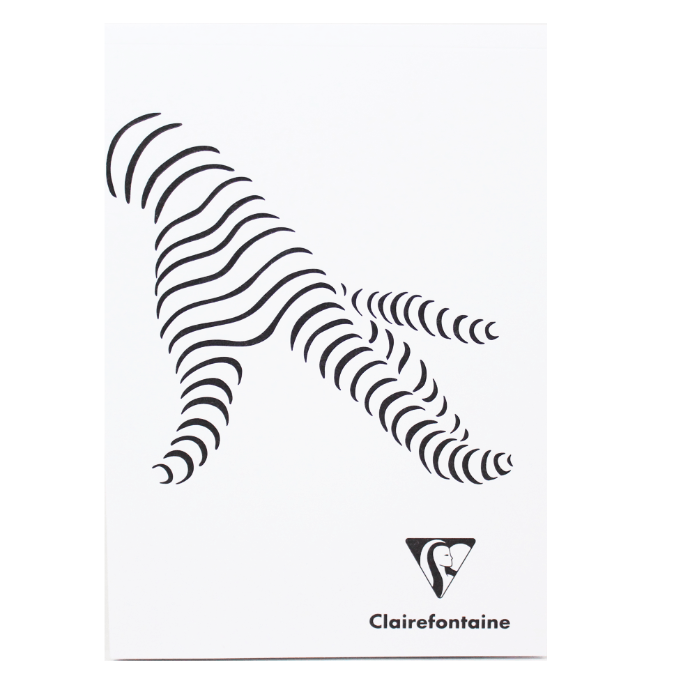 Bloco Creation Clairefontaine 90g/m² A4 Capa Branca