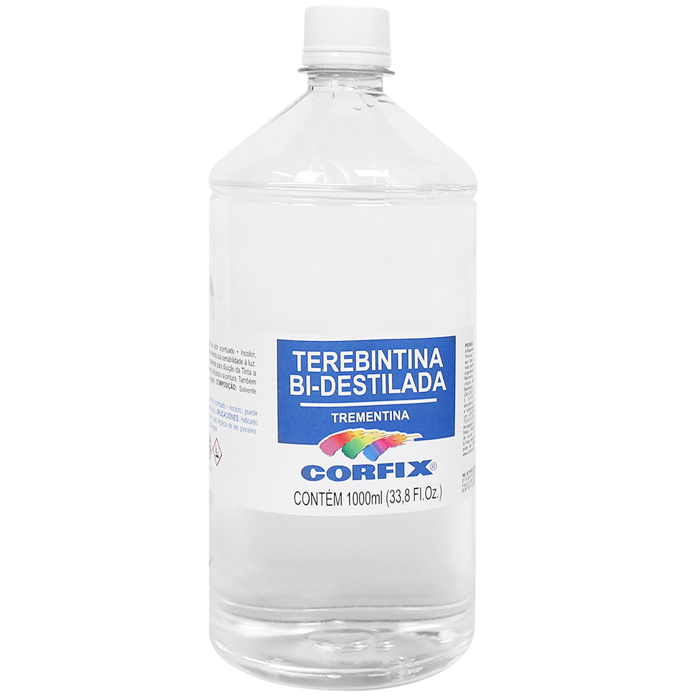 Terebintina Bi Destilada Corfix 1000ml