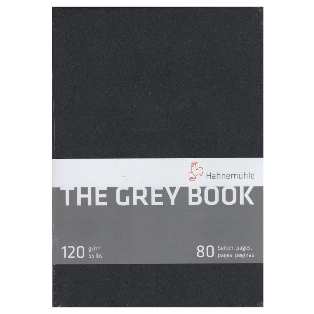 Bloco Sketchbook Hahnemühle The Grey Book 120g/m² A4