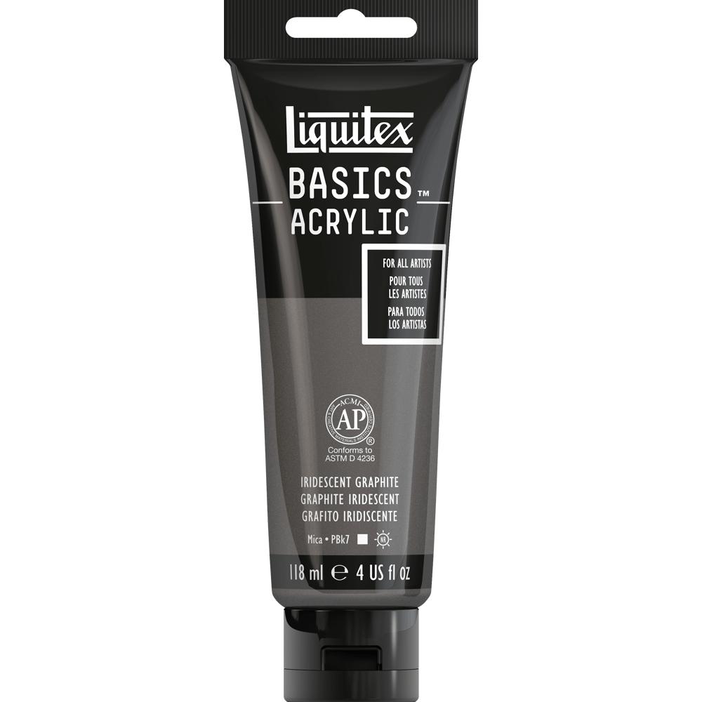 Tinta Acrílica Liquitex Basics 118ml 049 Iridescent Graphite