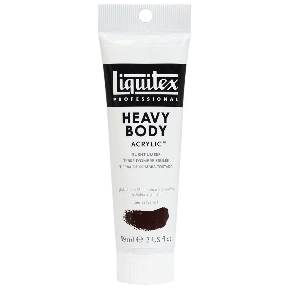 Tinta Acrílica Liquitex Heavy Body 59ml S1 128 Burnt Umber