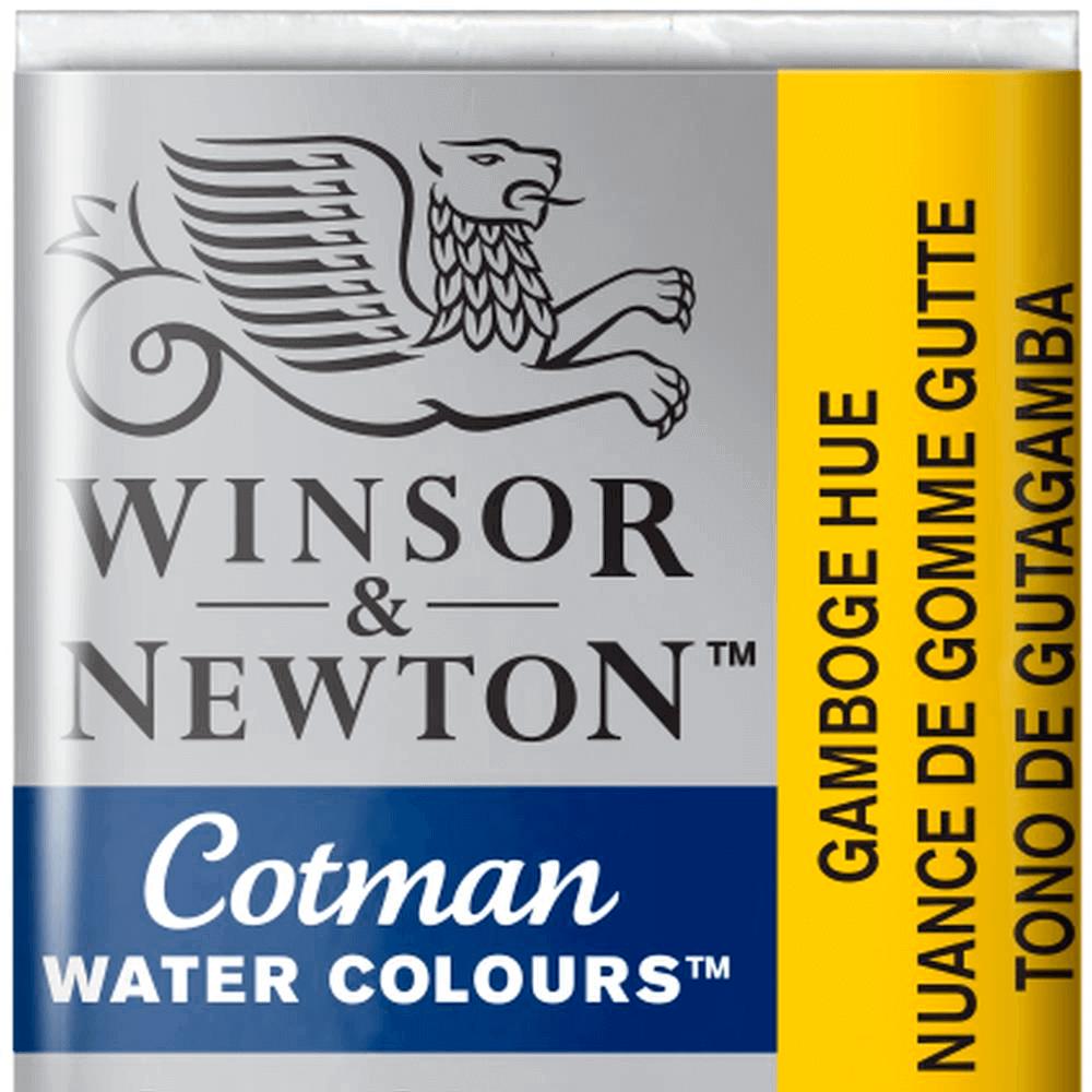 Aquarela Winsor & Newton Cotman Pastilha 266 Gamboge Hue