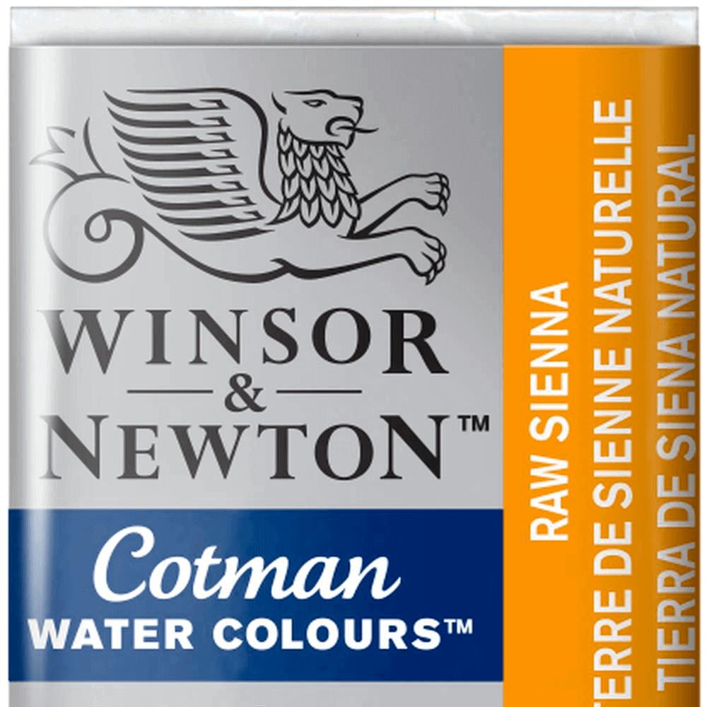 Aquarela Winsor & Newton Cotman Pastilha 552 Raw Sienna