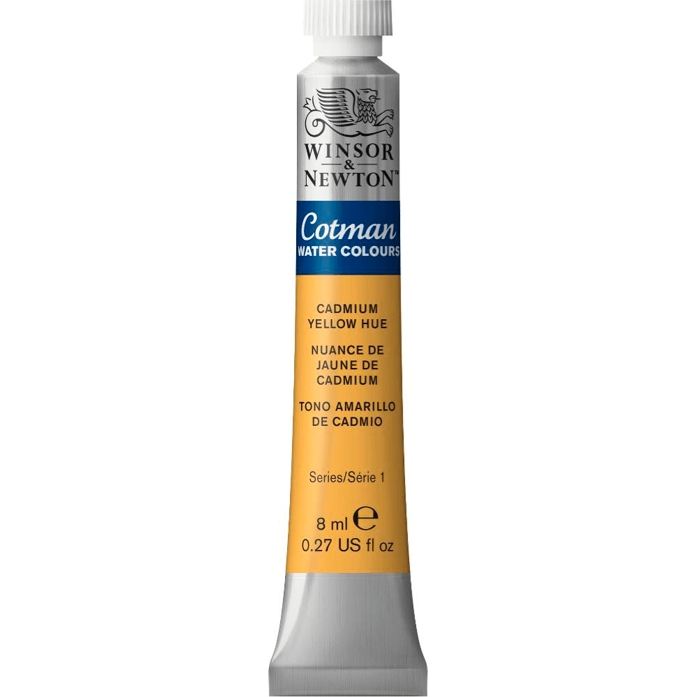 Aquarela Winsor & Newton Cotman 8ml 109 Cadmium Yellow Hue
