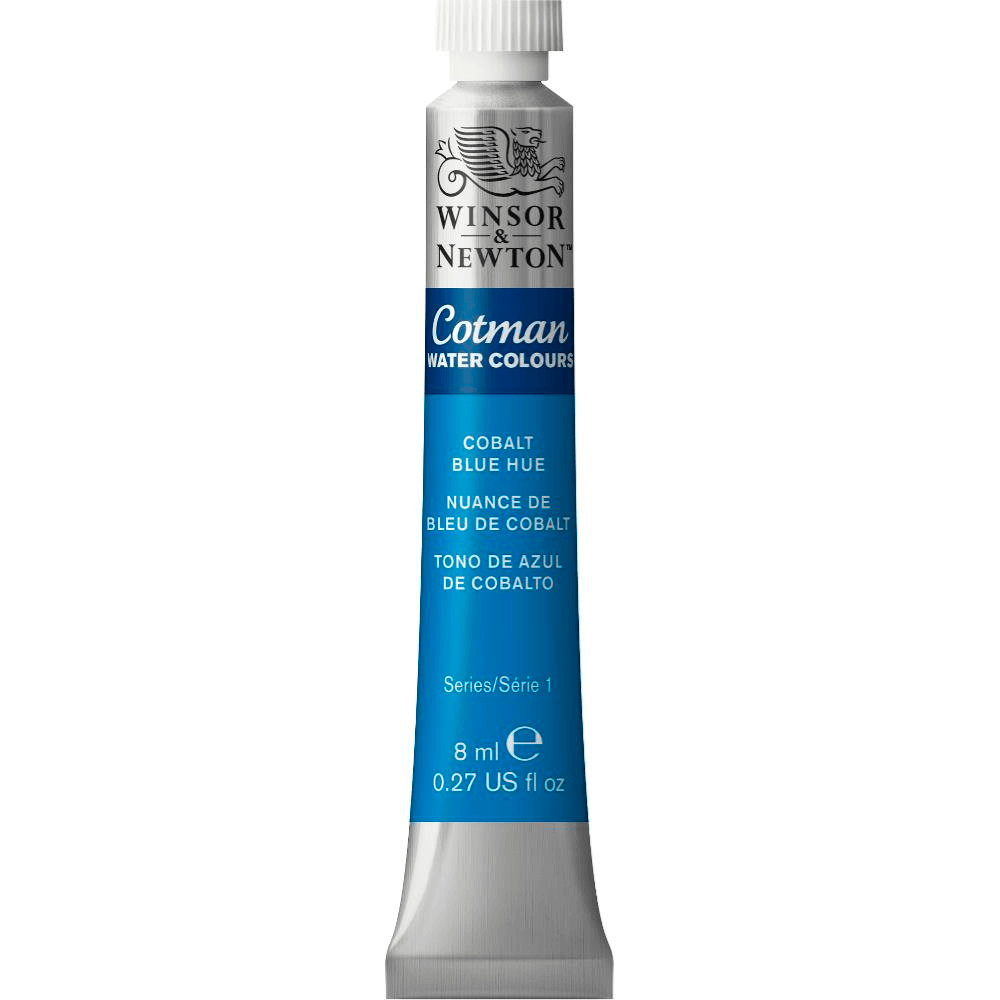 Aquarela Winsor & Newton Cotman 8ml 179 Cobalt Blue Hue