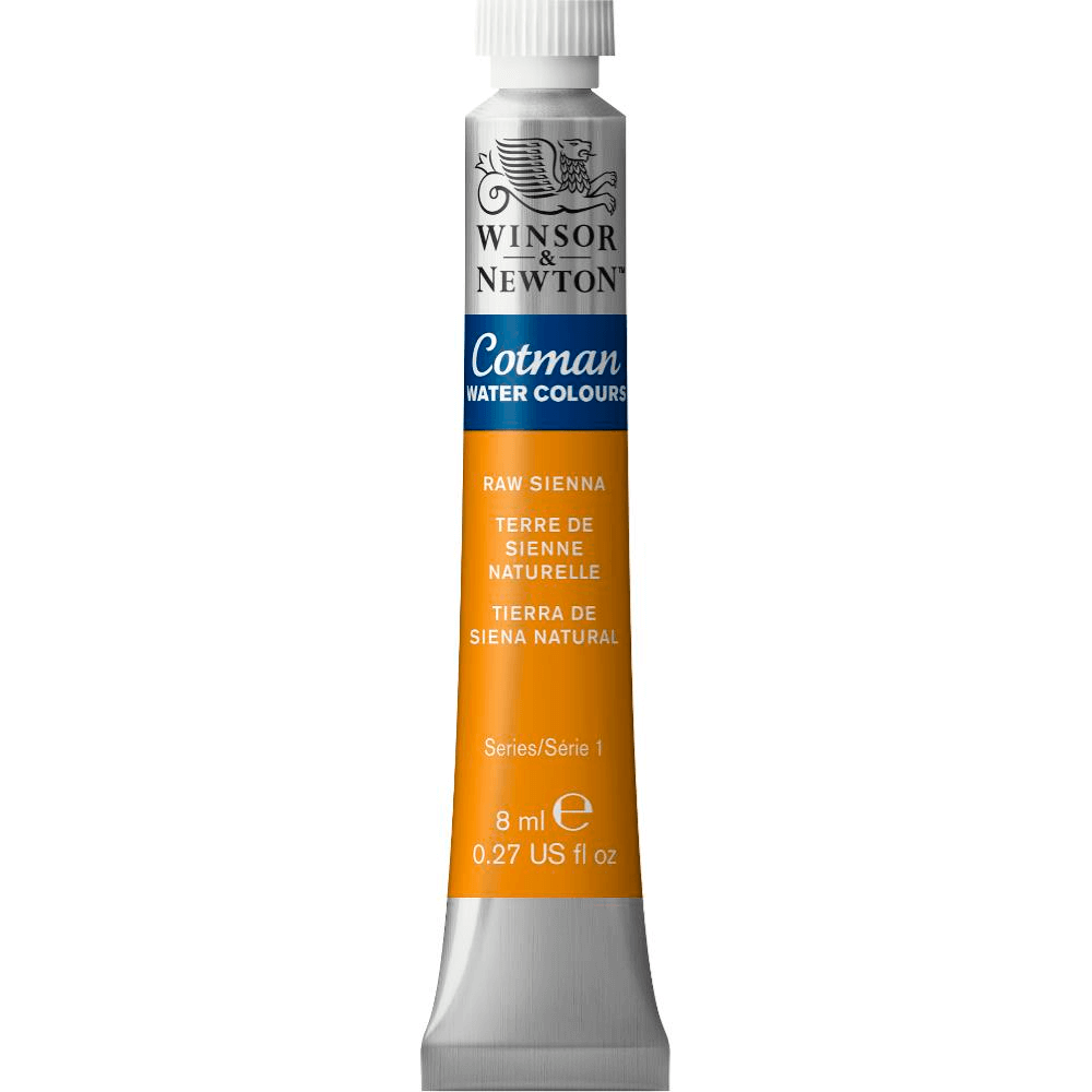 Aquarela Winsor & Newton Cotman 8ml 552 Raw Sienna