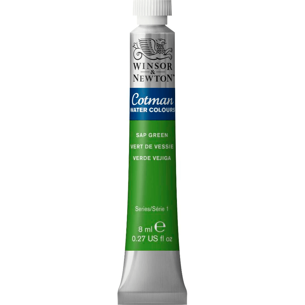 Aquarela Winsor & Newton Cotman 8ml 599 Sap Green