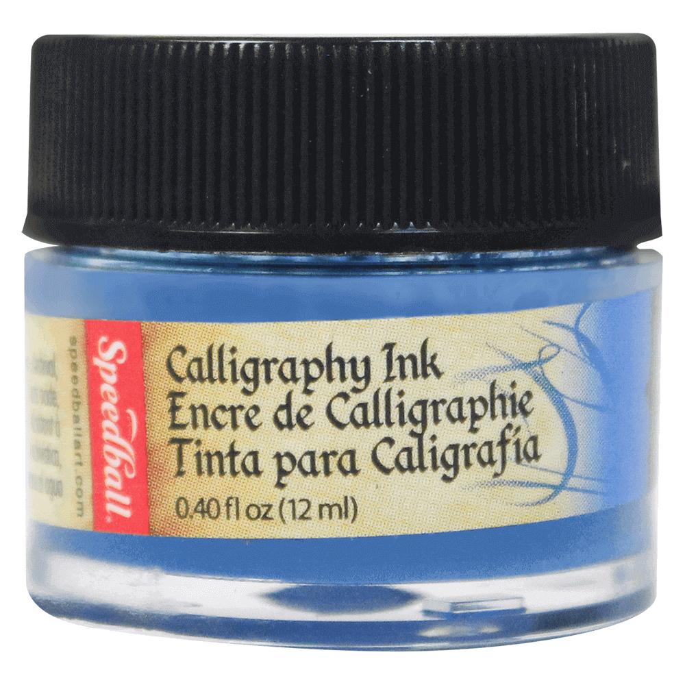 Tinta Caligráfica Speedball 12ml 3102 Azul Índigo
