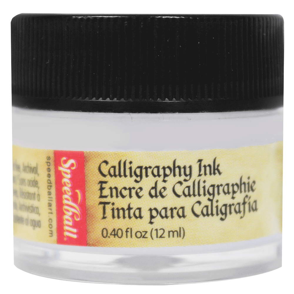 Tinta Caligráfica Speedball 12ml 3110 Branco