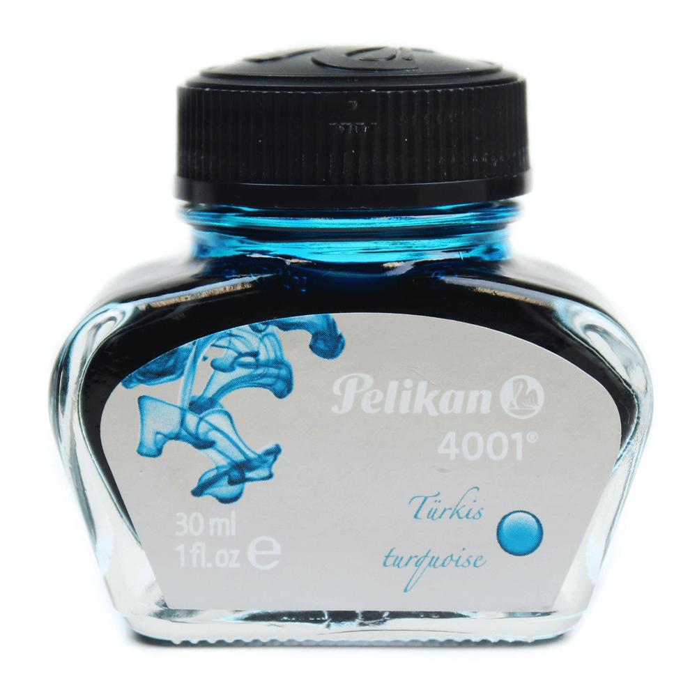 Tinta Para Caneta Tinteiro Pelikan 4001 Azul Turquesa 30ml