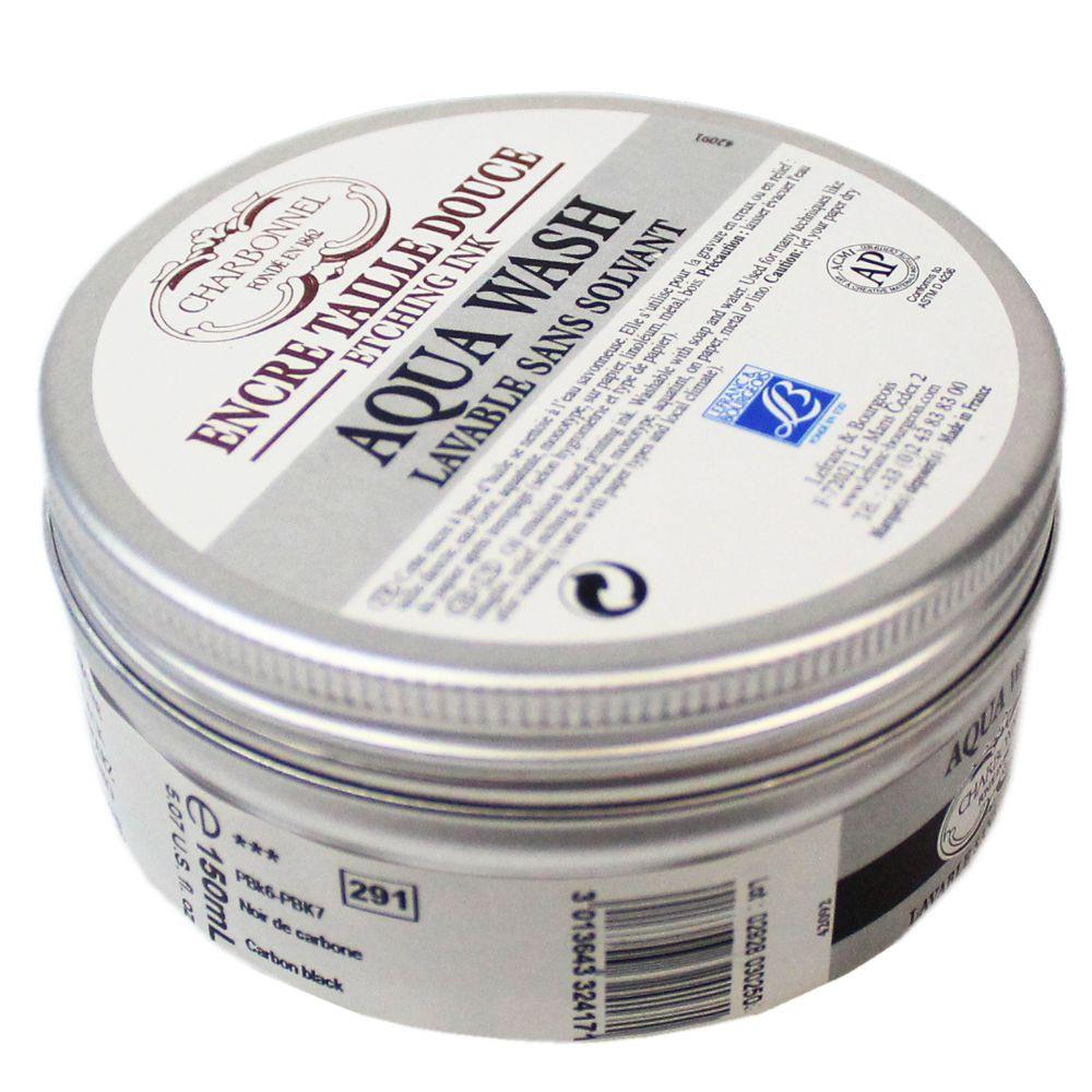 Tinta Aqua Wash Charbonnel 150ml 291 Carbone Black