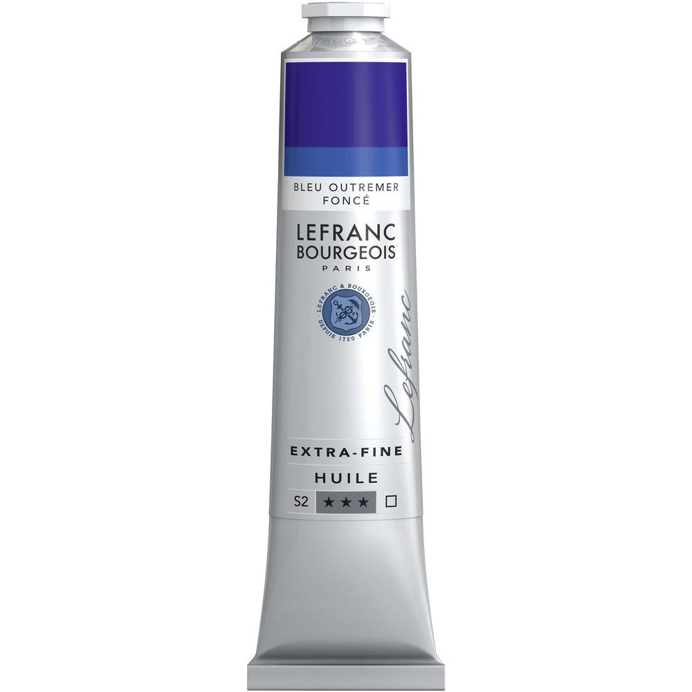 Tinta Óleo Lefranc & Bourgeois Extra Fine 200ml S2 055 Ultramarine Deep