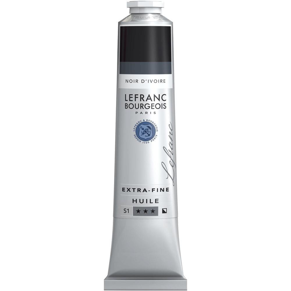 Tinta Óleo Lefranc & Bourgeois Extra Fine 200ml S1 269 Ivory Black