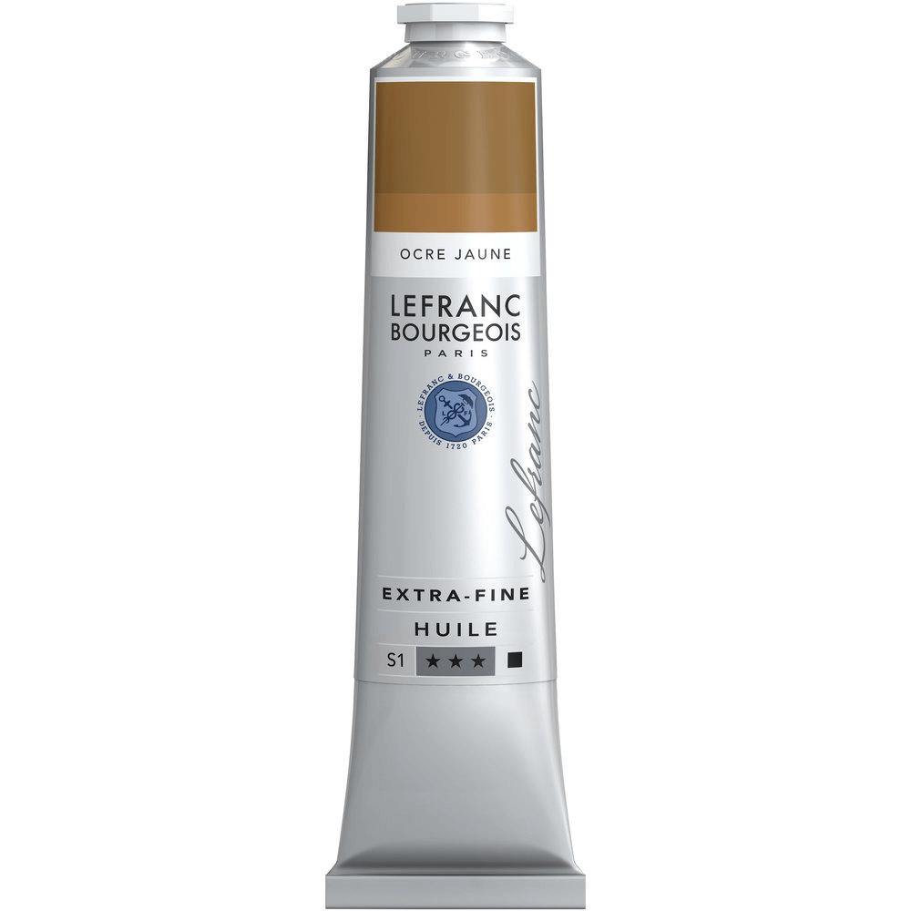 Tinta Óleo Lefranc & Bourgeois Extra Fine 200ml S1 302 Yellow Ochre