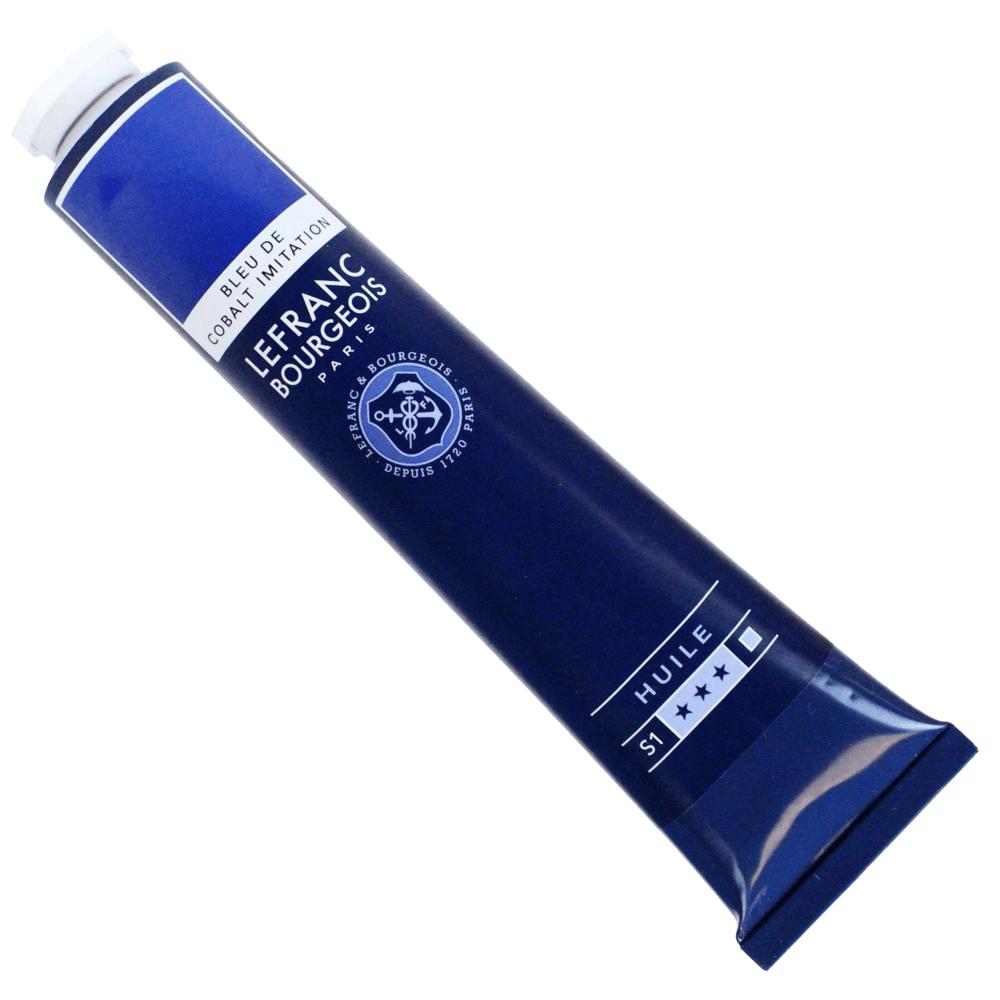 Tinta Óleo Lefranc & Bourgeois Fine 150ml 064 Azul Cobalto