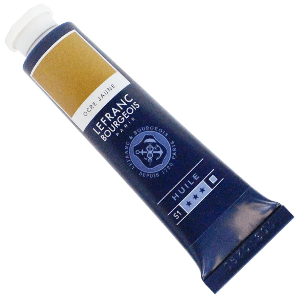 Tinta Óleo Lefranc & Bourgeois Fine 40ml 302 Amarelo Ocre