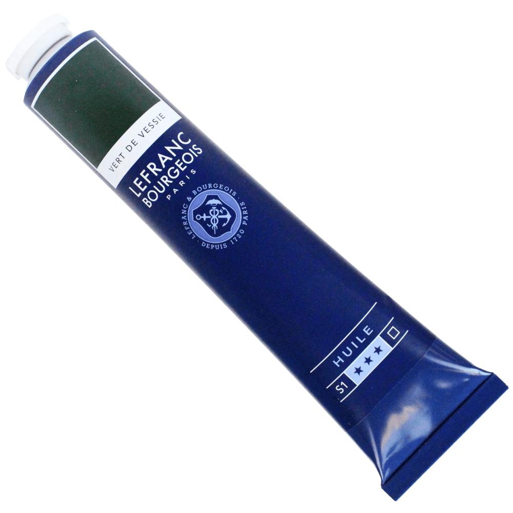 Tinta Óleo Lefranc & Bourgeois Fine 150ml 552 Verde Vessie