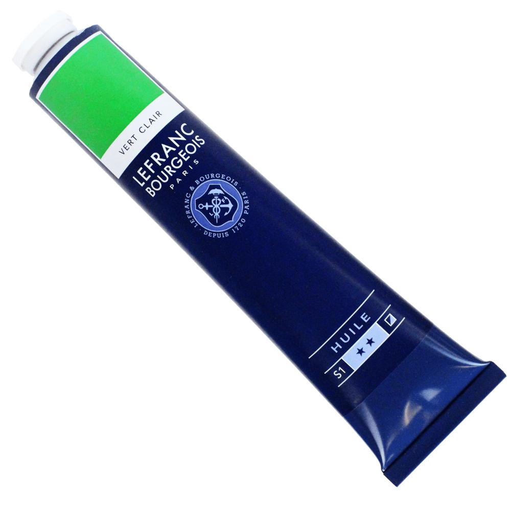 Tinta Óleo Lefranc & Bourgeois Fine 150ml 556 Verde Claro