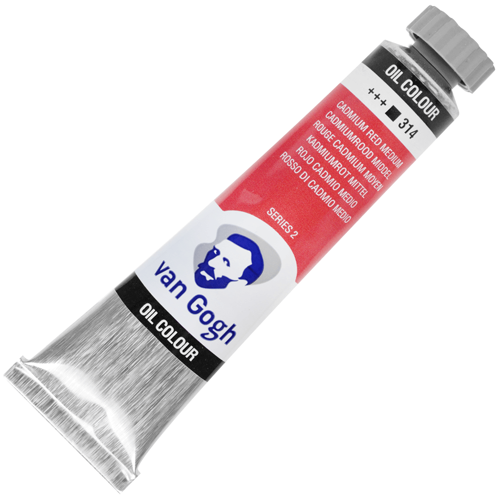 Tinta a Óleo Van Gogh 20ml 314 Cadmium Red Medium