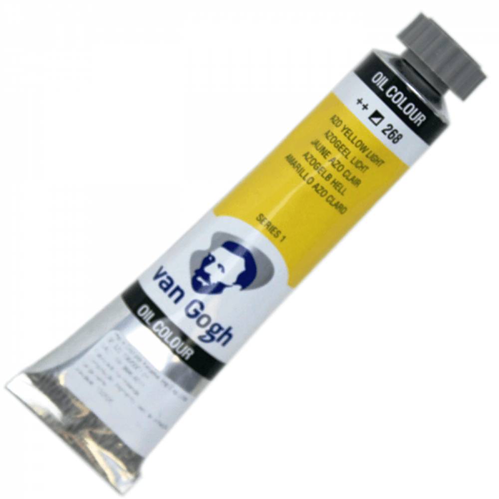 Tinta a Óleo Van Gogh 20ml 268 Azo Yellow Light