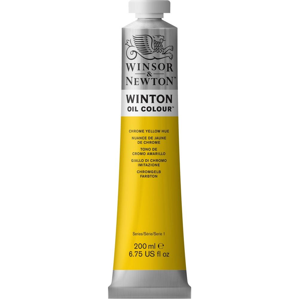 Tinta Óleo Winsor & Newton Winton 200ml 149 Chrome Yellow Hue